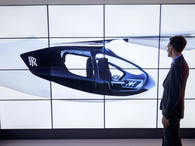 Rolls-Royce flying taxi