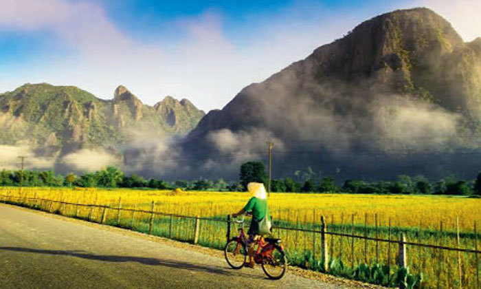 GREEN PRACTICES: Cycling is an environment friendly and healthy method to explore a new destination (Pic: Kunal Gupta)