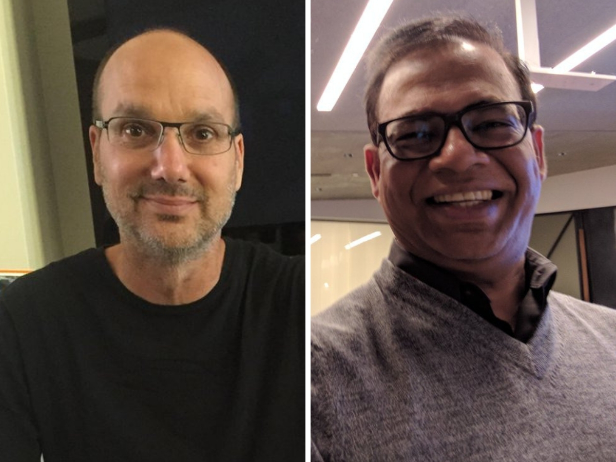 Andy Rubin and Amit Singhal