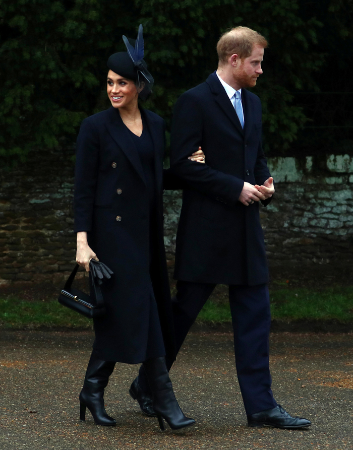 Duke and Duchess of Sussex, Harry and Meghan (L)