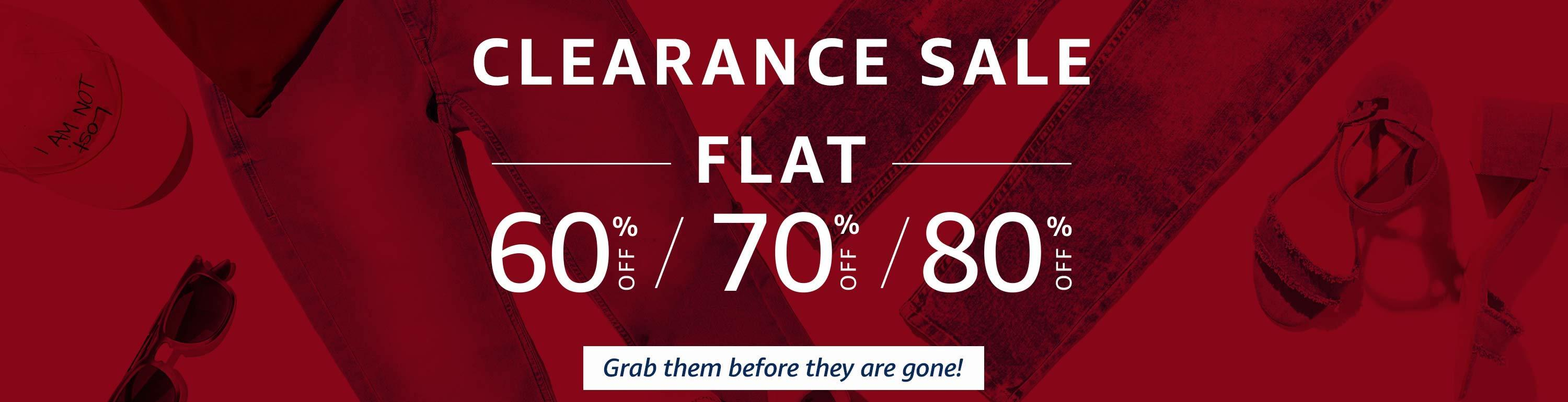 Amazon Clearance Sale