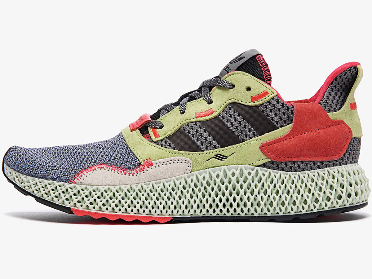 Adidas ZX 4000 4D​ is made ​from light, oxygen, and liquid resin​