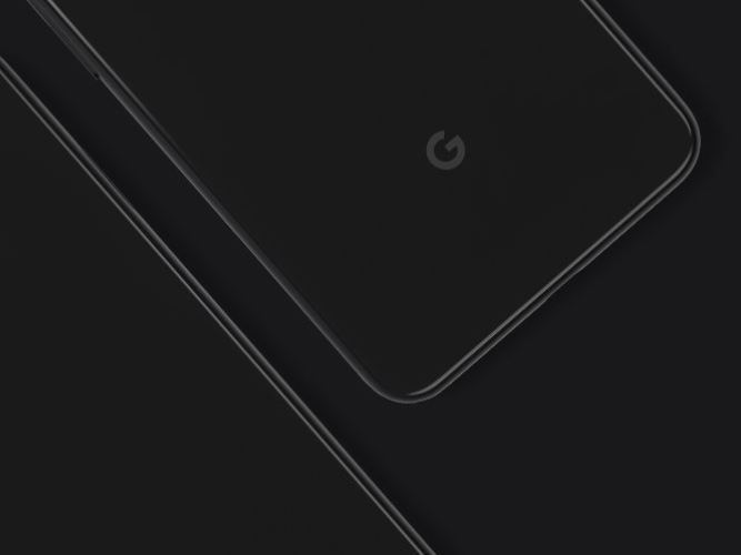 ​Chic, uber-cool and cutting edge design:  Google Pixel 4 and 4 XL shimmer in black. (Image: YouTube/ Google)