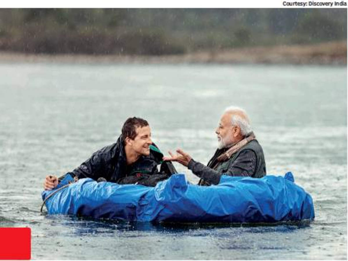 PM Modi goes on an adventure to raise awareness